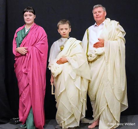 Drei Römer