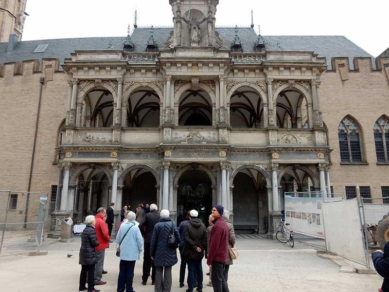 Besuch des Kölner Rathauses