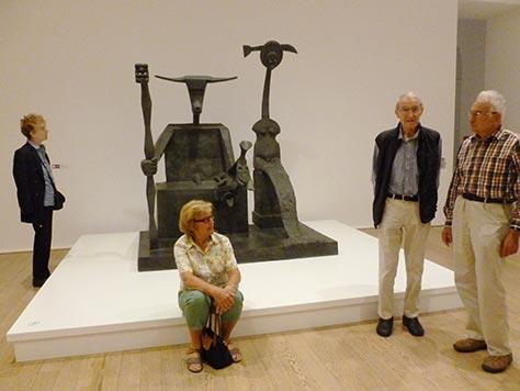 Besuch des Max Ernst Museums am 25.8.17