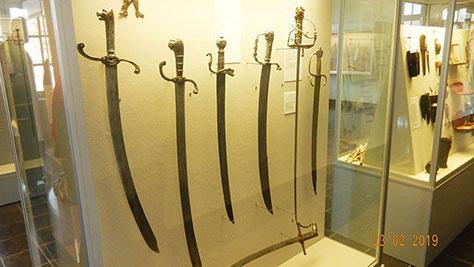 Im Klingenmuseum Solingen 2019